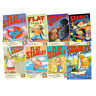 Jeff Brown Flat Stanley Collection 8 Books Set (Flat Stanley,Stanley Flat Again)