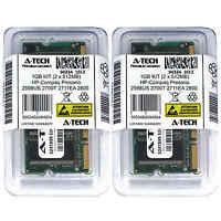 1GB KIT 2 x 512MB HP Compaq Presario 2598US 2700T 2711EA 2800 Ram Memory