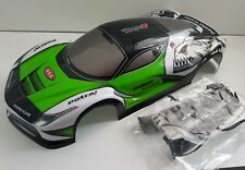 1/10 RC car 190mm on road drift Ferrari Enzo GT Body Shell  W/Spoiler kit Green