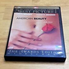 American Beauty Dvd Widescreen Awards Edition Annette Bening Mena Suvari 2000