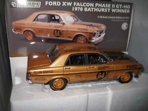 CLASSIC 1/18 FORD XW FALCON GTHO MOFFAT 1970 BATHURST WINNER 50th ANNIVIVERSARY