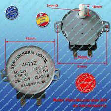 Synchronous motor 30VAC 3W 49TYZ microwave - Motor microondas 30VAC