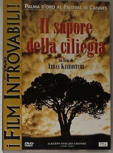 IL SAPORE DELLA CILIEGIA DVD RARO FUORI CATALOGO FILM INTROVABILI NUOVO...
