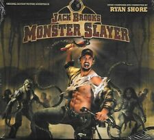JACK BROOKS - MONSTER SLAYER (CD) Soundtrack Ryan Shore OOP NEW & SEALED