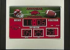 Arkansas Razorbacks Scoreboard Desk Clock