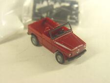 Mercedes G  - Geländewagen Cabrio - Roco HO 1:87 Modell 1724 #E - gebr.