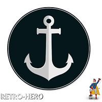 Anker Aufkleber Anchor Sticker Auto Boot Maritim Meer Segeln Sticker Decal