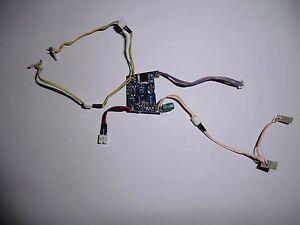 1x Carrera Digital 132 Decoder 26732 'Klein' + Licht  V/H  - paßt in viele Autos