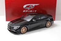 1:18 GT Spirit 850 Brabus 6.0 Biturbo black 2015 NEW bei PREMIUM-MODELCARS