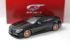 1:18 GT Spirit 850 BRABUS 6.0 Biturbo Black 2015 SP NEW chez Premium-modelcars