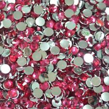 5000P Crystal Flat Back Rhinestones Gems Diamante Bead Nail Art Crafts 2-6MM #06
