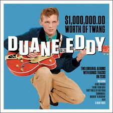 Duane Eddy $1,000,000 WORTH OF TWANG VOL 1 & 2 +Bonus Tracks NEW SEALED 2 CD