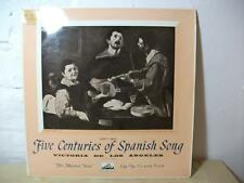 ALP1393 Five Centuries of Spanish Song VICTORIA DE LOS ANGELES HMV MONO LP