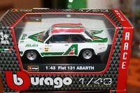 FIAT - 131 ABARTH RALLY ALITALIA - 1978 - BURAGO - SCALA 1/43