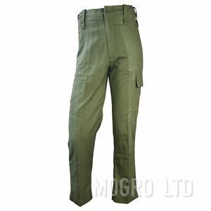 Genuine British Army Mens Lightweight Trousers