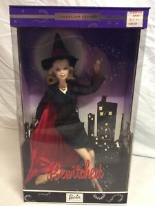 2001 BEWITCHED COLLECTOR EDITION BARBIE - 53510 - ORIGINAL BOX UNOPENED