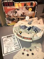 Vintage Star Wars Boxed Complete Millenium Falcon 1979 Kenner Near Mint