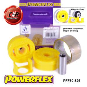 PFF60-526 Powerflex For Renault Megane 2, RS 225, R26+Cup 02-08 RrLowEngMnt Bush
