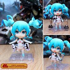 "Anime Hatsune Racing Miku 2014 Ver. Nendoroid 414 4"" PVC Action Figure Toy Gift"