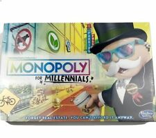 Monopoly For Millennials Millenials Edition Board Game  Factory Sealed