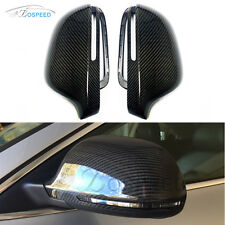 Carbon Fiber Replacement Mirror Covers Housing for Audi A3 A4 A5 A6 C6 A8 S8 Q3