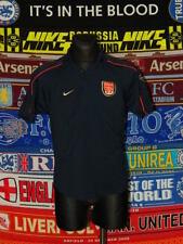 5/5 Arsenal adults L retro polo MINT football shirt jersey trikot soccer