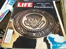 VINTAGE LIFE - JULY 5TH 1968 - SPECIAL ISSUE THE PRESIDENCY- GREAT ADS