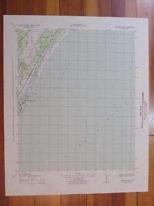 Magnolia Beach South Carolina 1942 Original Vintage USGS Topo Map