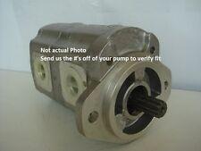New Kubota R510, R510B Tandem Hydraulic Pump