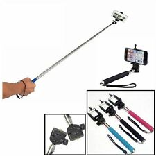 Extendable Handheld Selfie Monopod Holder Mount for iPhone 5 5s 6 Samsung Camera