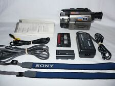 Sony Handycam CCD-TRV36 8mm Video8 HI8 Camcorder Player Camera Video Transfer