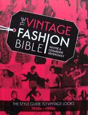 LIVRE/BOOK : THE VINTAGE FASHION BIBLE (mode années 20,30,40,50,60,70,80
