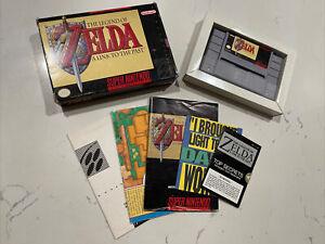 The Legend of Zelda: A Link to the Past (Super Nintendo SNES, 1992) Complete CIB