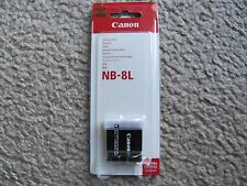 GENUINE Canon NB-8L Lithium-Ion Rechargeable Battery For A2200/3000/3100/3300