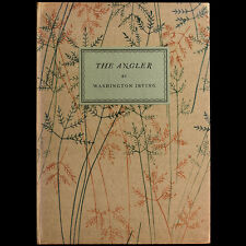 1931 THE ANGLER LIMITED PRIVATE PRESS WASHINGTON IRVING ROD FLY FISHING ANGLING