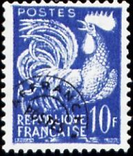 """FRANCE PREOBLITERE TIMBRE STAMP N°110 """"TYPE COQ GAULOIS 10F """" NEUF (x) TB"""