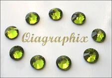 2x 1440 Pcs 20 gross DMC Iron On Hotfix Crystal Rhinestones Olivine SS20, SS20E