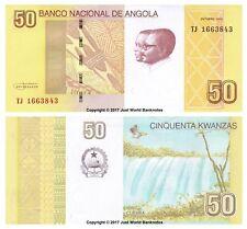 Angola 50 Kwanzas 2012 P-152 Billetes Unc