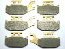 Front Rear Brake Pads Fit 2007-2009 Can Am Outlander 400 500 650 800 Brakes Set