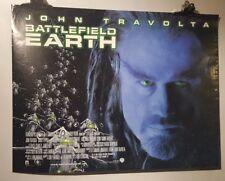 Battlefield Earth Original Cinema movie poster John Travolta