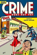 Crime Does Not Pay Vol. 4 by Dick Wood and Lev Gleason (2013, Hardcover)