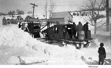 1930's Snow Plow #2 10-Ton Tractor, Greenville, Maine Original Negative & CD