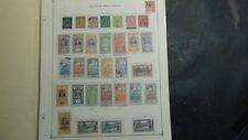 Fr. Polynesia stamp collection on Scott International pages to '83