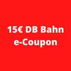 DB Deutsche Bahn eCoupon Gutschein - Wert 15€ - ab 39,90 nutzbar - bis 31.12