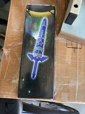 "12"" Legend of Zelda Hylian Hyrule Ocarina of Time Master Sword Short Dagger Blue"