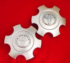 TOYOTA TUNDRA 2003 2004 2005 2006 WHEEL CENTER HUB CAPS SILVER 560-69440 2 pcs