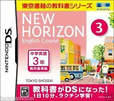 Used DS New Horizon English Course  3 NINTENDO JAPANESE IMPORT