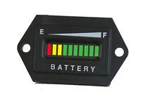 PRO48FRCX ™ 48 Volt EZGO Club Car Yamaha Golf Cart Battery Indicator mtr gauge