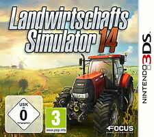 Landwirtschafts-Simulator 14 (Nintendo 3DS, 2014, Keep Case)
