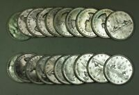 1961 Roll of Canadian Dollar Coins BU Brilliant Uncirculated 80% Silver 20 Total